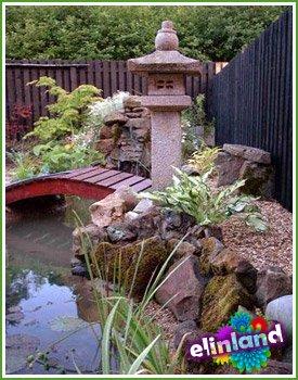 Японский сад на дачном участке