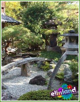 Композиция японского сада