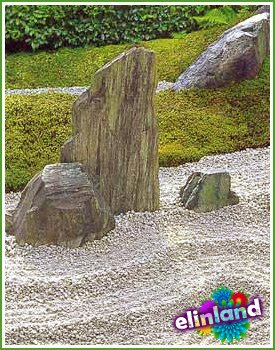 Символизм элементов японского сада. Камни, гравий и галька